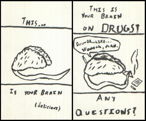 Your brain, on drugs.
